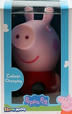 Peppa Pig LED Colour Changing Kids Bedroom / Nursery Night Light