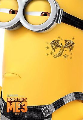Despicable Me 3 - A4 Movie Poster- High Resolution Print. (a)