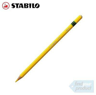 Stabilo - All Aquarellable Yellow Pencils 8044 -  (Wax Pencil / Chinagraph)