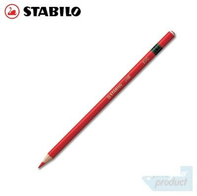 Stabilo - All Aquarellable Red Pencils 8040 -  (Wax Pencil / Chinagraph)