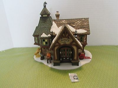 Dept. 56 Dickens Village Series 2001 Bayly's Blacksmith 56.58495