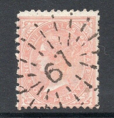 Australian States New South Wales 1890s Issue Fine Used 1d. Postmark 160554