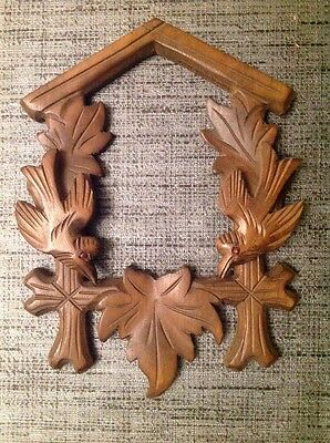 Antique Cuckoo Clock Frame 19x14cm