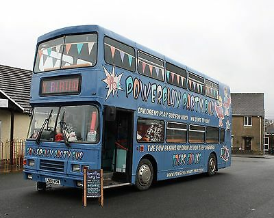 Children's Play Bus, Party Bus, Double Decker Fun Bus. Business For Sale