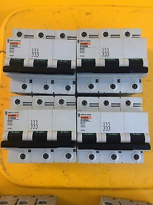 120 Amp 3 Phase Quality Merlin Gerin Circuit Breaker