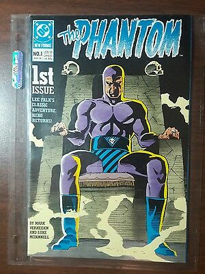 Lee Falk's THE PHANTOM Comic book. DC. 1 March 1989