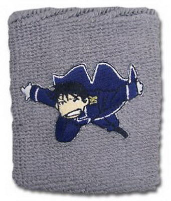 FullMetal Alchemist Brotherhood Colonel Roy Mustang Official FMA Cloth Wristband