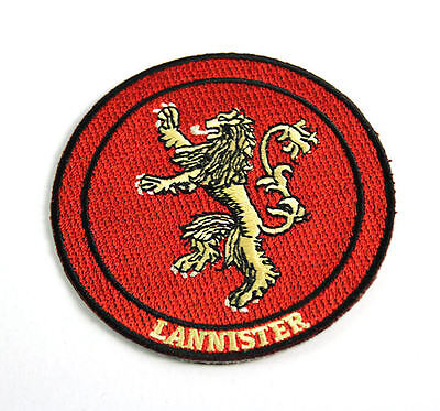 Game of Thrones House Lannister Iron On/Sew On Patch Official Licensed Product
