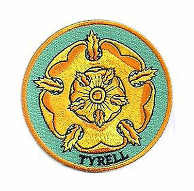 Game of Thrones House Tyrell Iron On/Sew On Patch Official Licensed Product