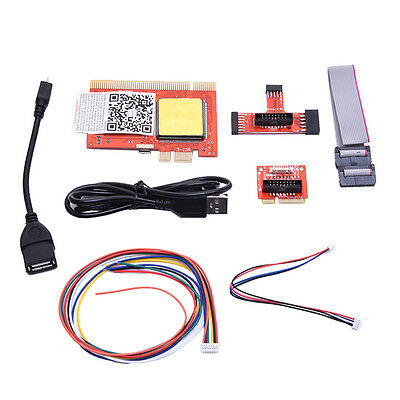 PCI Diagnostic LCD Analyzer Tester Test debug Post Card for PC Laptop Notebook