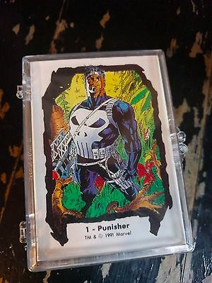 THE JIM LEE TRADING CARD set series II X-MEN PUNISHER 1991 ROGUE
