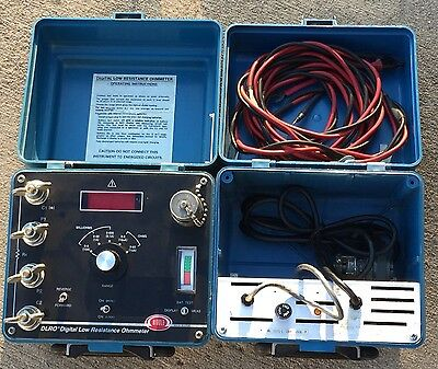 10A Biddle Digital Low Resistance Ohmmeter DLRO As Is Working Model 247000