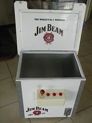 Jim Beam Cooler, Arcade Pacman Promo As New,check Photos Used Once,