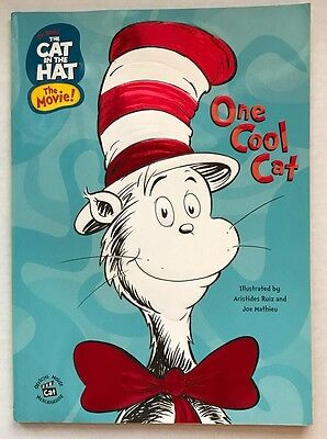 Cat In The Hat Movie Coloring & Activity Book One Cool Cat 2003 Golden Unused