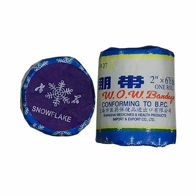 """Snowflake WOW Fighter Bandage (2"""" x 4yards)"""