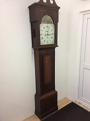 8 day longcase clock