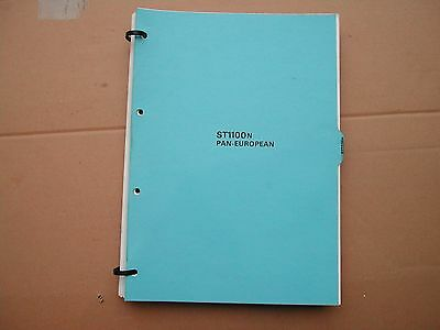 Honda ST1100 N pan european  DEALER workshop manual . genuine not photocopy
