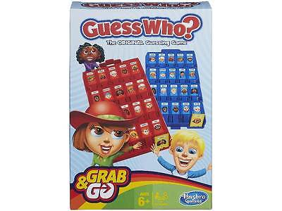 Guess Who? Grab & Go Mobile Game Hasbro Gaming Novelty Toy Kids Skill Strategy