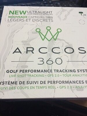 Arccos 360 Golf Performance Tracking System Green/Black New