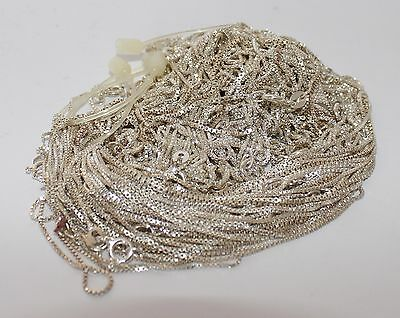 Clearance Silver Scrap & New Jewelry Chain Charms Earrings Solder #m-069-As