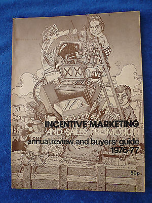 Incentive Marketing and Sales Promotion - annual review and buyers guide - 1976