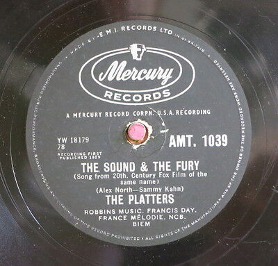 The Platters / The Sound & The Fury & Enhanced (12-0615)