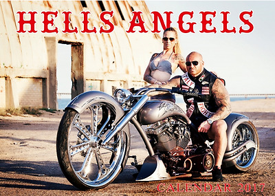 Hells Angels Original 81 Support Kalender 2017 Germany Calendar BRM
