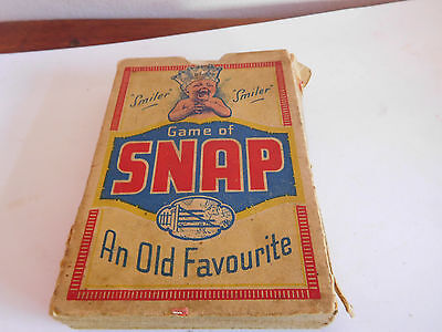 "Found* Vintage Boxed Set Of Cards By Cow & Gate ""snap"" Coloured Cards"