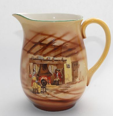 Large Vintage FALCON WARE (T Lawrence) Jug - English Home/Spinner - 17cm/1.250L