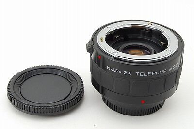 【EXC+++】Kenko N-AFD 2x Teleplus MC7 for Nikon F mount Teleconverter from JAPAN