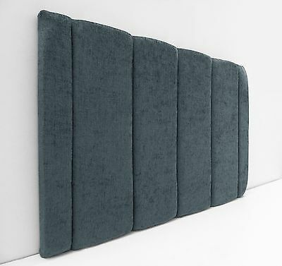 Brilliant Monaco Headboard In Luxury Chenille Fabric In Single Double King!