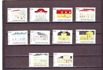 a131 - FINLAND - SG1024-1033 MNH 1982 MANOR HOUSES