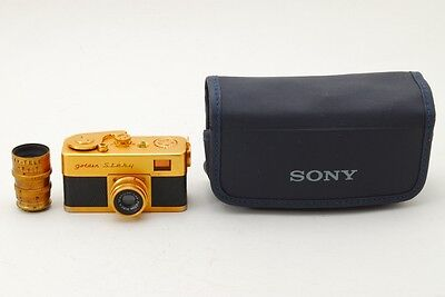 【RARE】Ricoh 16 Golden Steky Subminiature Camera w/ 25mm & 40mm lenses from JAPAN