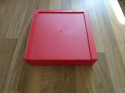 10 disk plastic case for 5 1/4 floppy diskettes