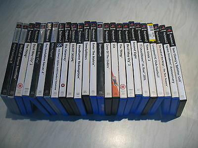 Bundle joblot of 168 Sony Playstation PS2 games PAL most complete