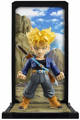 Tamashii Buddies Dragon Ball Z 004 SS Super Saiyan Trunks Mini Statue Bandai NIB