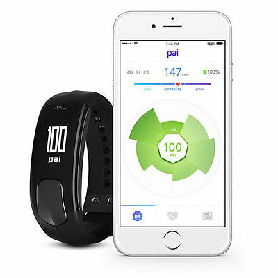 Mio SLICE Heart Rate and Activity Tracker
