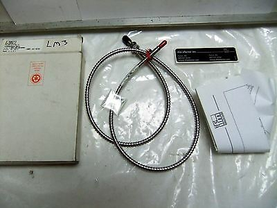 New Ifm Efector E20823 Fe-50-V-V-M5/16 Fiber Optic 900 Mm Cable-Wire