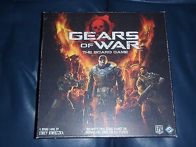 "FFG Fantasy Flight Games ""Gears Of War"" Board Game."