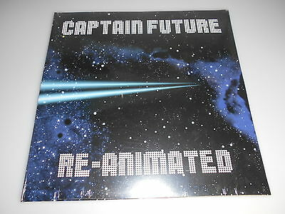 Captain Future Re-Animated LP Limited Edition of 1000 Neu in Folie