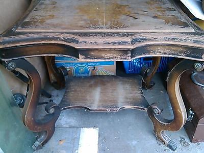 ANTIQUE LARGE TABLE extremely heavy ***GOTTTALOOK !!!!!!!