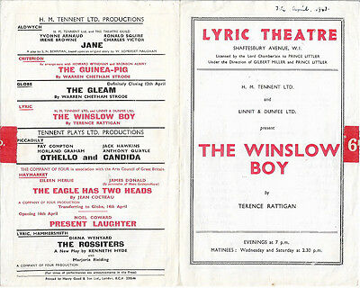 23 Year Old Carry On Star Leslie Phillips - London - West End Stage 1947