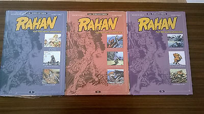 BD RAHAN collection Altaya les 3 premiers tomes sous blister neuf
