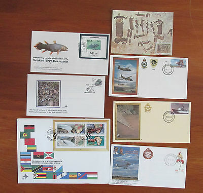 RSA  X 6  South Africa Stamps  First Day Cover MINT BULK LOT OF SIX