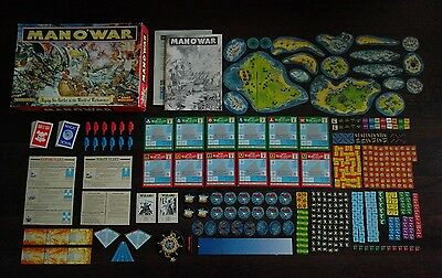 Man o' War boxed game COMPLETE and lovely condition. Excellent example OOP
