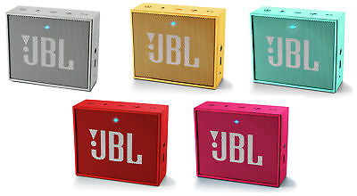 JBL GO Portable Bluetooth Speaker - Choice of Colour. From Argos on ebay
