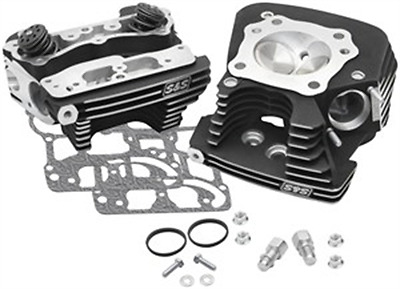 S&S Cycle Super Stock 79cc Cylinder Head Kit - .640in. Lift Springs - Winkle Bla