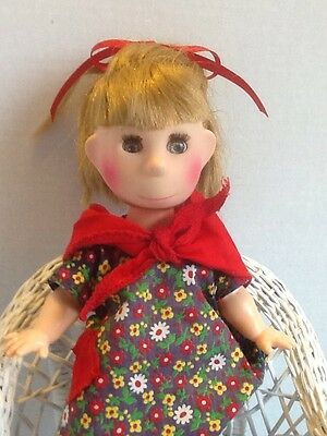 "Poor Pitiful Pearl -Vintage 1963 Horseman Doll 12"" All Original -W M Steig - EUC"