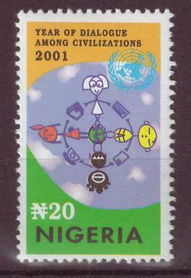 Nigeria - UN Year of Dialogue Among Civilizations 2001 NHM