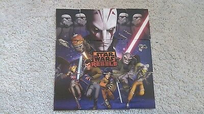 Star Wars Disney Store exclusive collectible trading cards - Rebels